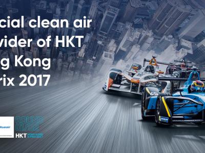 Blueair teams up with HKT Hong Kong E-Prix